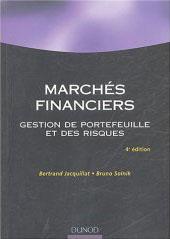 Marches Financiers Gestion De Portefeuille Et Des Risques De Bertrand Jacquillat Et Bruno Solnik